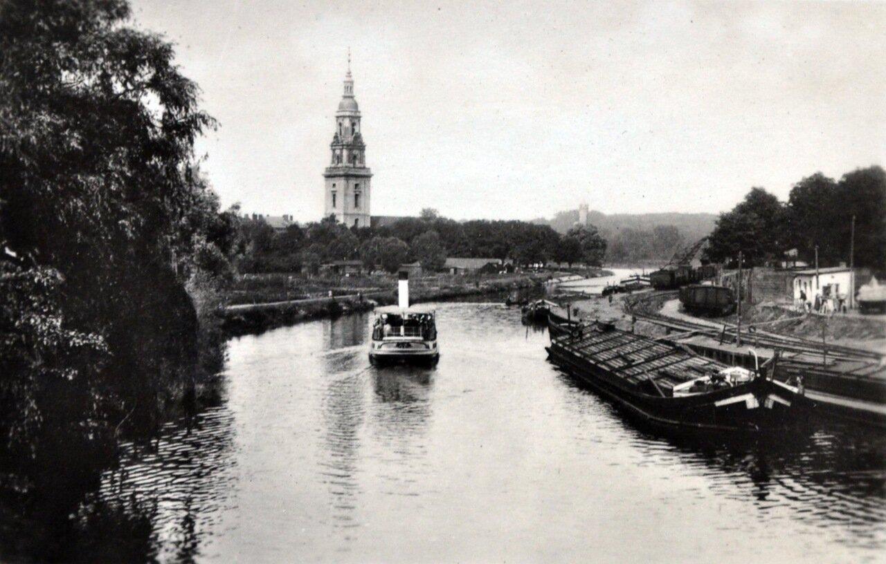 Кенигсберг. Река Хафель и Церковь Святого Духа. Май 1933