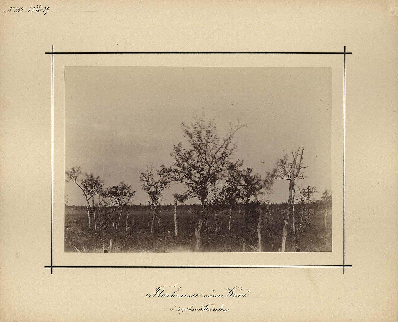 28.8.1889. Пейзаж вдоль реки Кемь