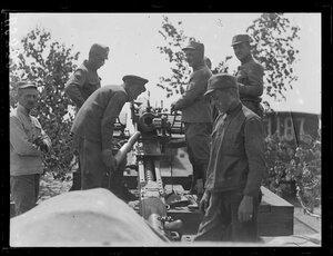 1917. Лето. Где-то в Сибири. Чешская артиллерия