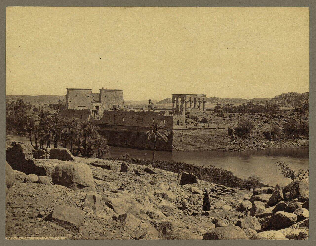 Филе. Руины Храма