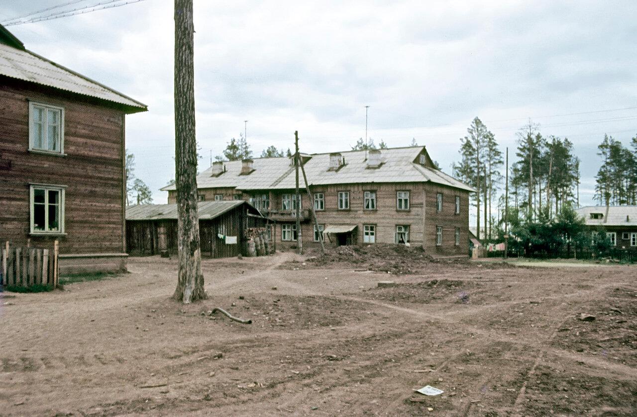 Братск. Поселок Гидростроителей