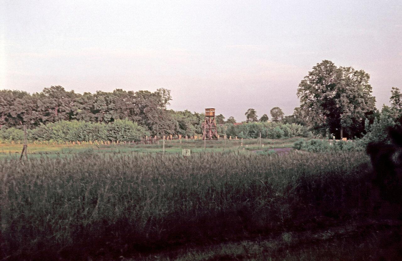 1967. Грос Глиннике. Таможенная граница