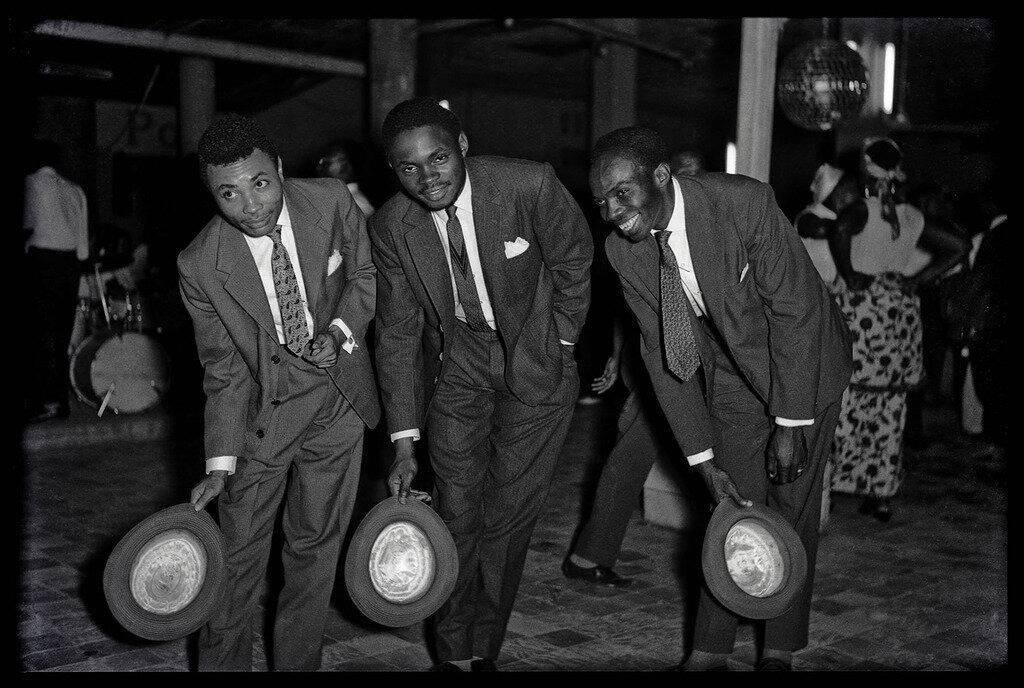 1965. Три музыканта