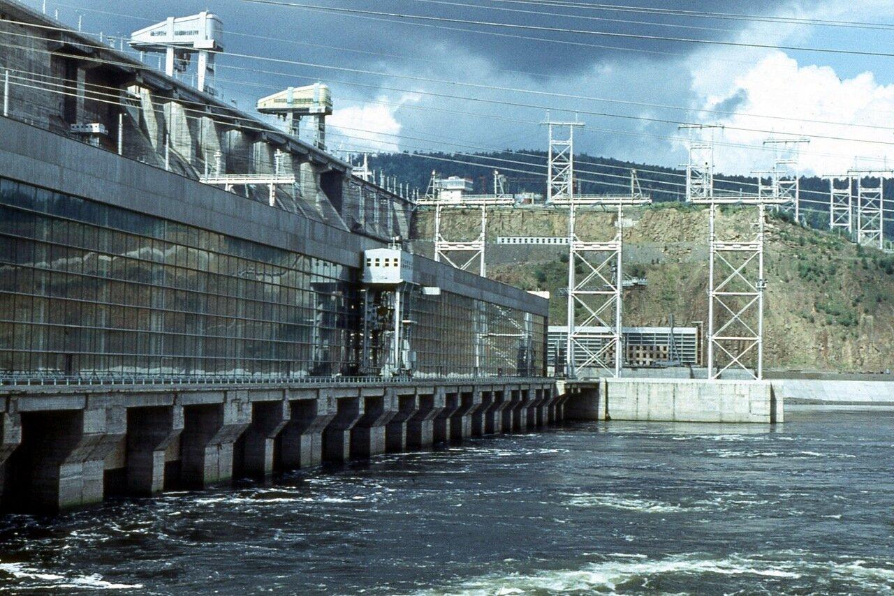 39. Красноярская ГЭС