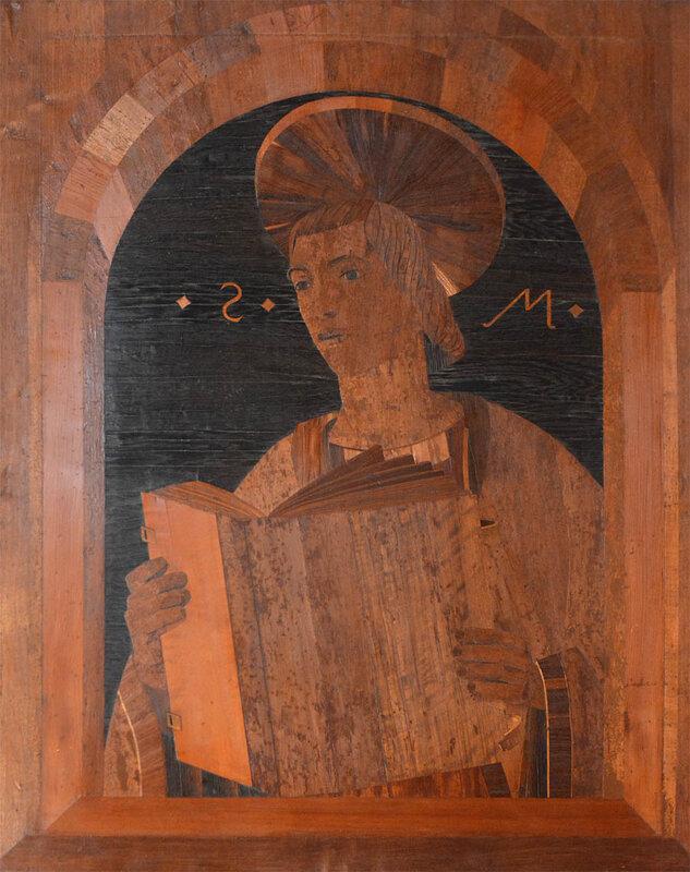 интарсия из Собора в Модене