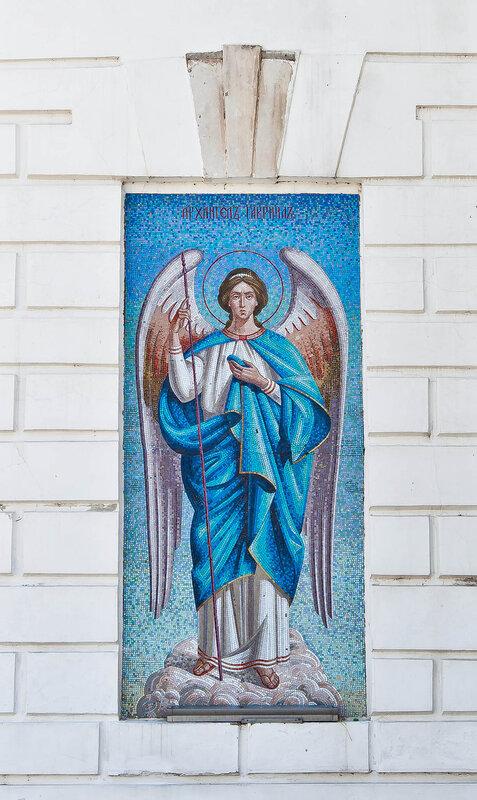 Архангел Гавриил - Церковь Николы Белого в Серпухове