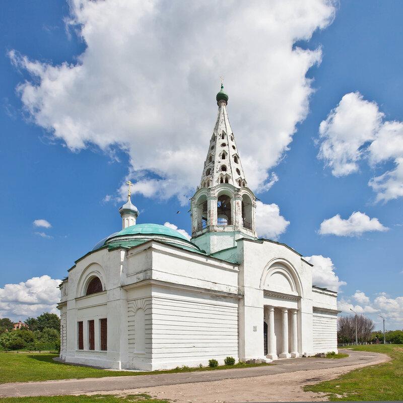 Троицкая церковь на Красной Горе - Серпухов