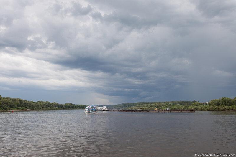 Река Ока. Поленово.