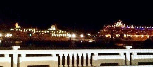 Олимпиада, Сочи, вечер, лайнер