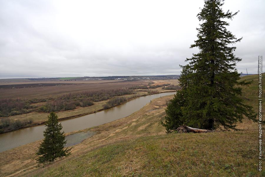 Отрясовская гора, река Уржумка
