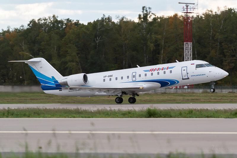 Bombardier CRJ-200ER (VP-BBE) Ямал D802906