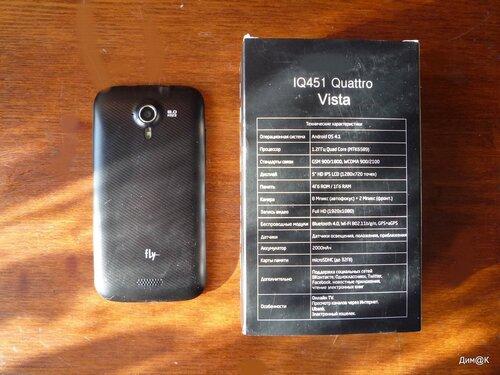 Fly IQ451 Vista (с упаковкой)