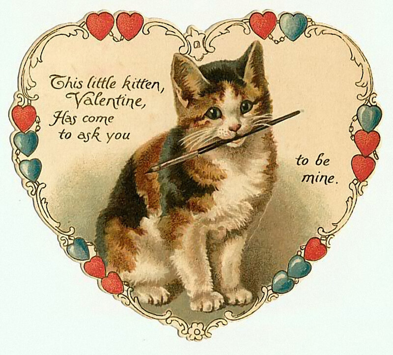 Старинные открытки в День Святого ...: www.liveinternet.ru/users/lviza_neo/post312161662