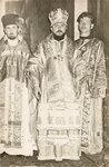 Священник Петр Нецветаев (слева), настоятель храма Петра и Павла в Солигаличе.