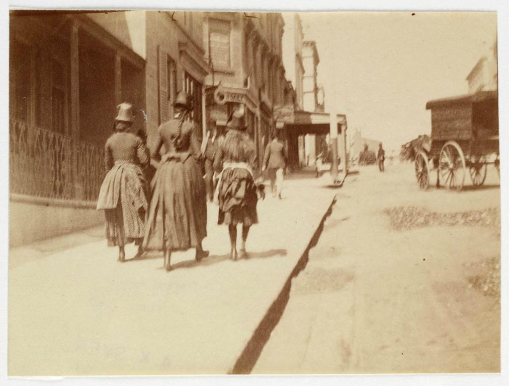 Улицы Сиднея 1885 -1890 г