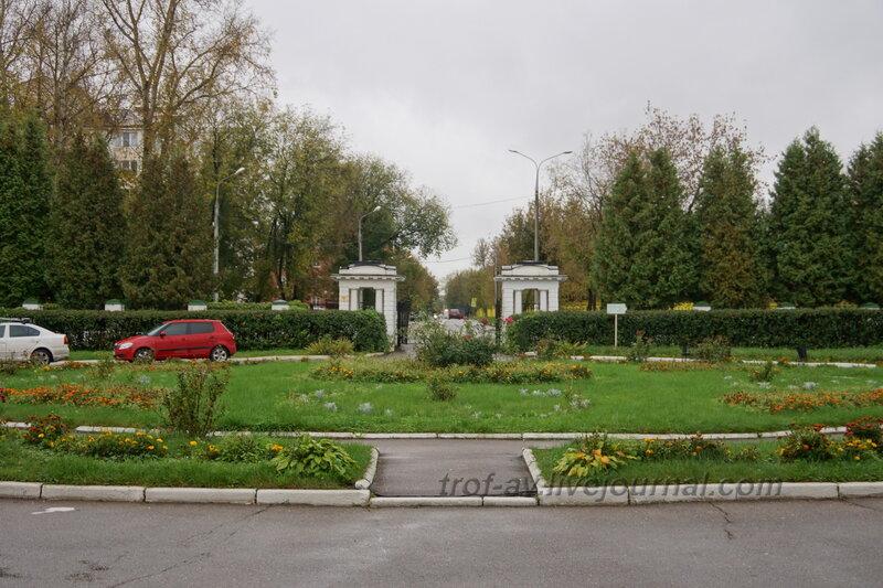Усадьба Ивановское, входные ворота,  Подольск, 2013