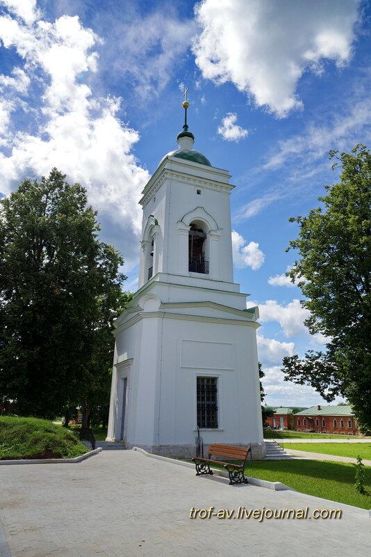 Спасо-Бородинский женский монастырь, колокольня