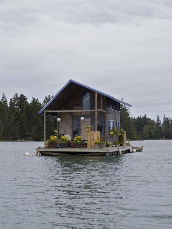 28 очень уютных домов со всего мира, построенных своими руками. Природа и покой 28-ми домиков.