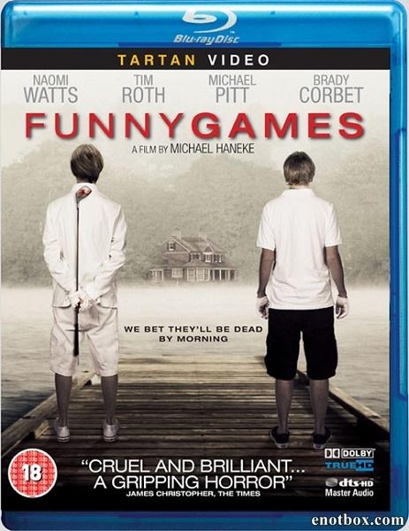 Забавные игры / Funny Games (2007/BDRip/HDRip)
