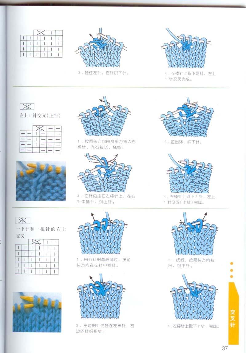 Условные обозначения вязания спицами китайские журналы