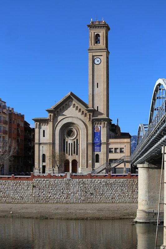 Tortosa, Church of the rosary. Iglesia del Roser