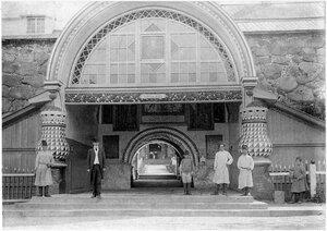 Соловетский монастырь. Святые ворота. 1908-1010 гг.