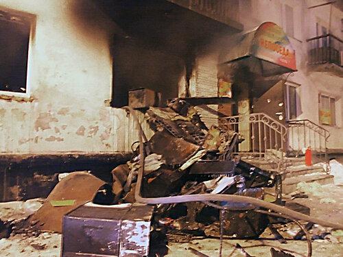 Вечер после взрыва баллона на Ермака, 11