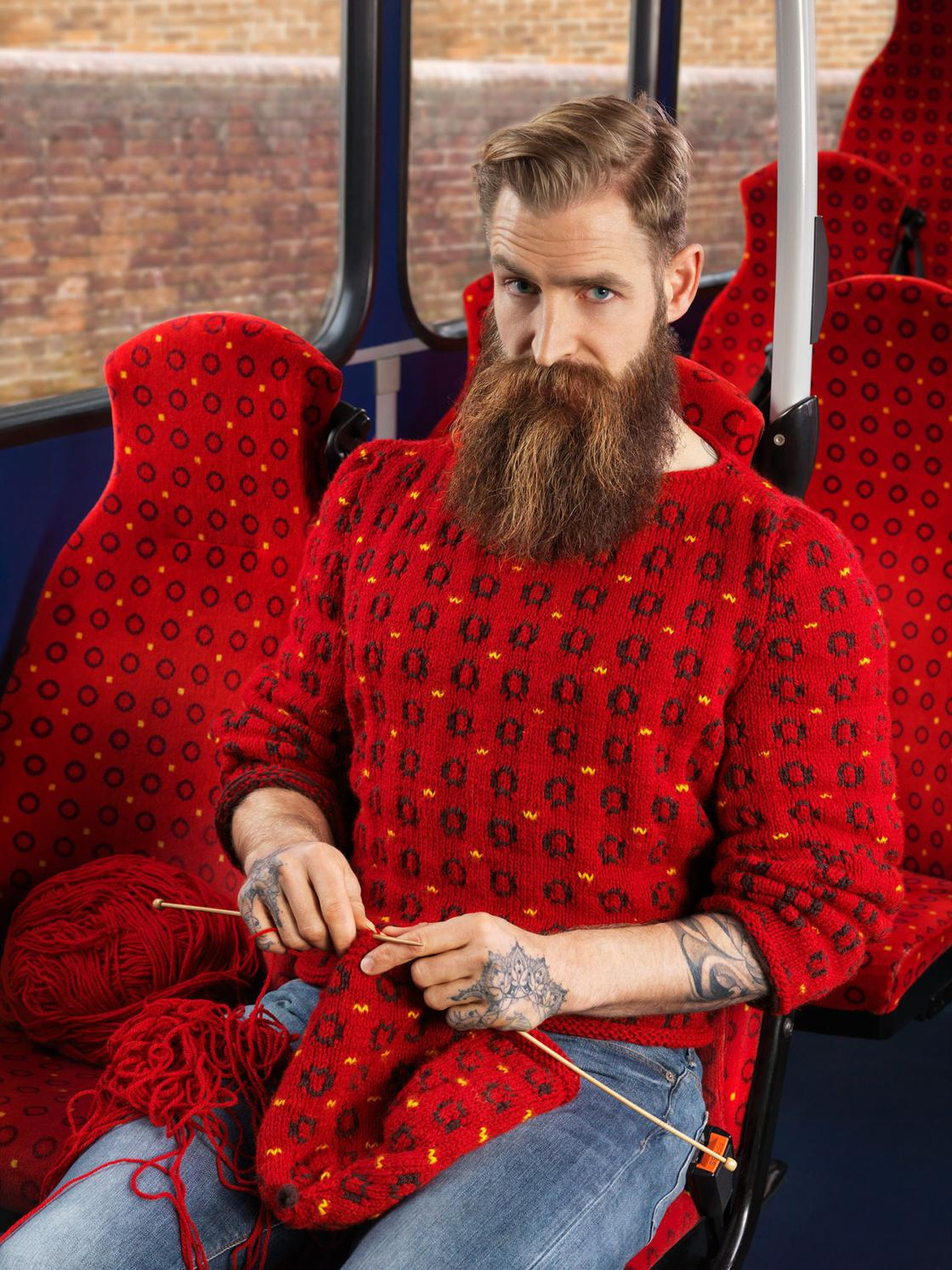 Knitted Camouflage – When knitting meets urban camouflage