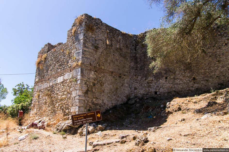 Крепость Гардики, остров Корфу