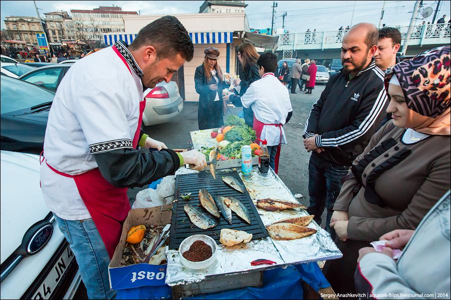Стамбул и рыба