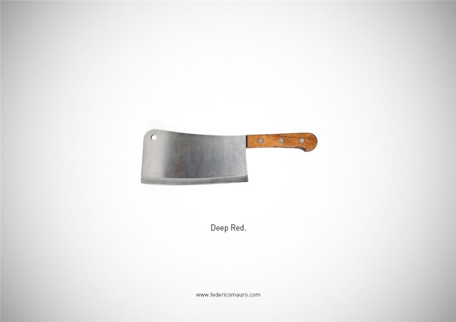 Знаменитые клинки, ножи и тесаки культовых персонажей / Famous Blades by Federico Mauro - Profondo Rosso