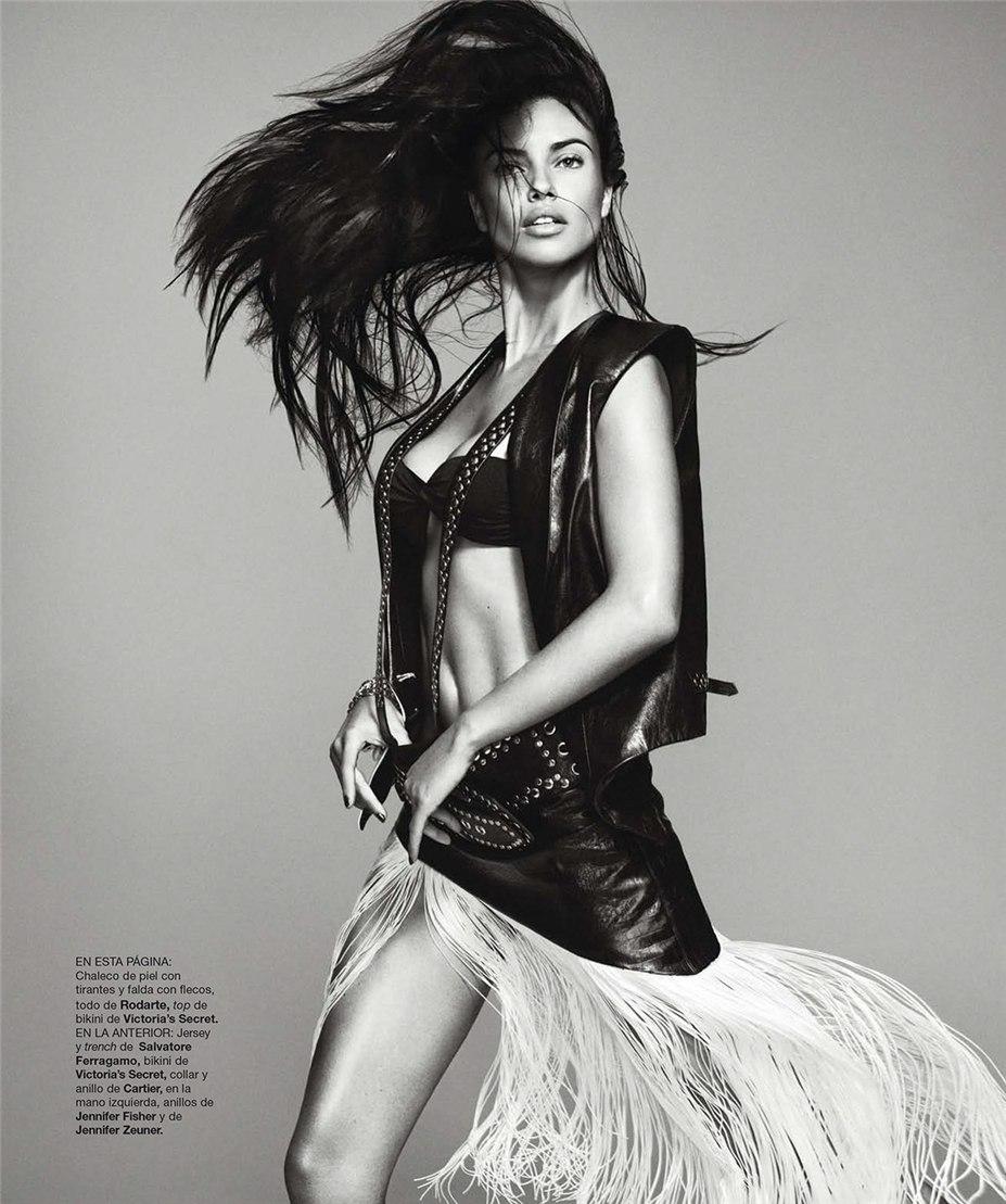 Adriana Lima / Адриана Лима в журнале Harper's Bazaar Spain, февраль 2014 / фотограф Nico