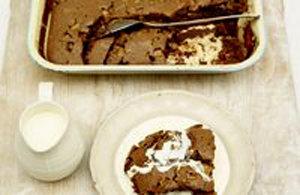 Как подать шоколадный торт