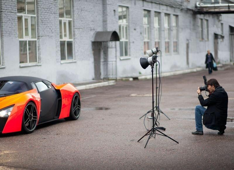 Как делают российские суперкары. Marussia