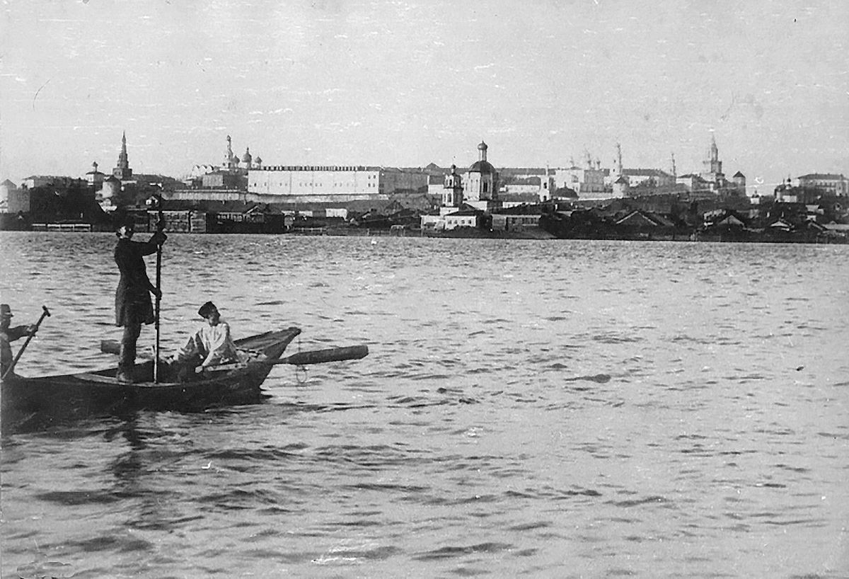 1886-1887. Казанека в разлив
