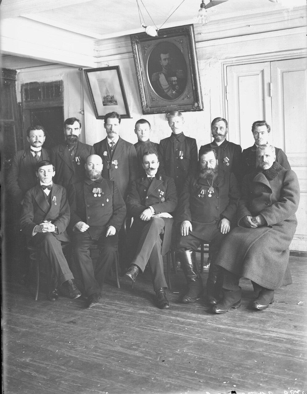 Члены Гордеевского участкового комитета г. Нижний Новгород.1896.