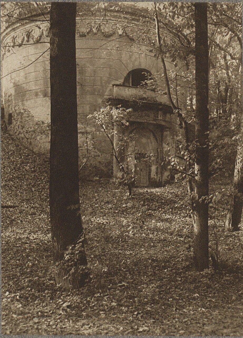 Дворец Кроликарния, В парке