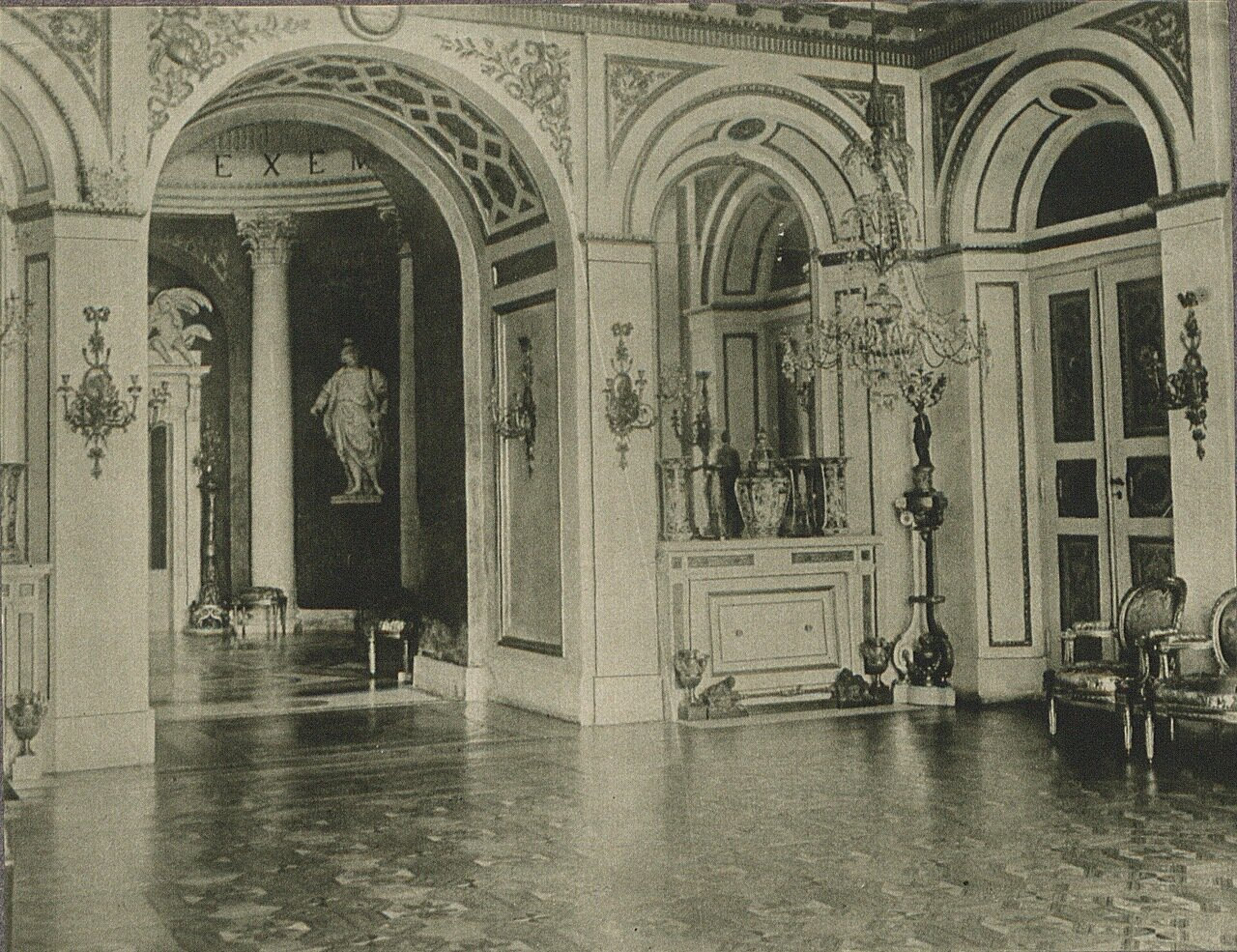 Лазенковский дворец. Интерьеры залов
