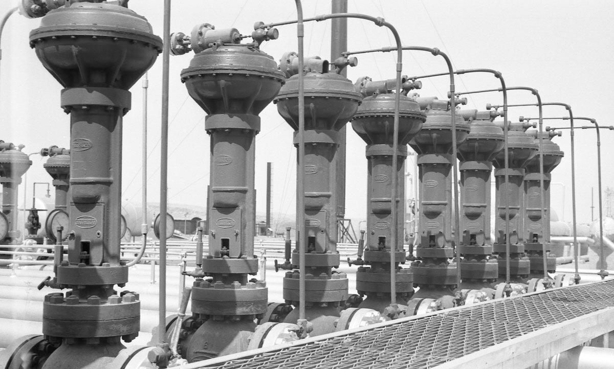 32. Нефтяная промышленность в Иране, 1958