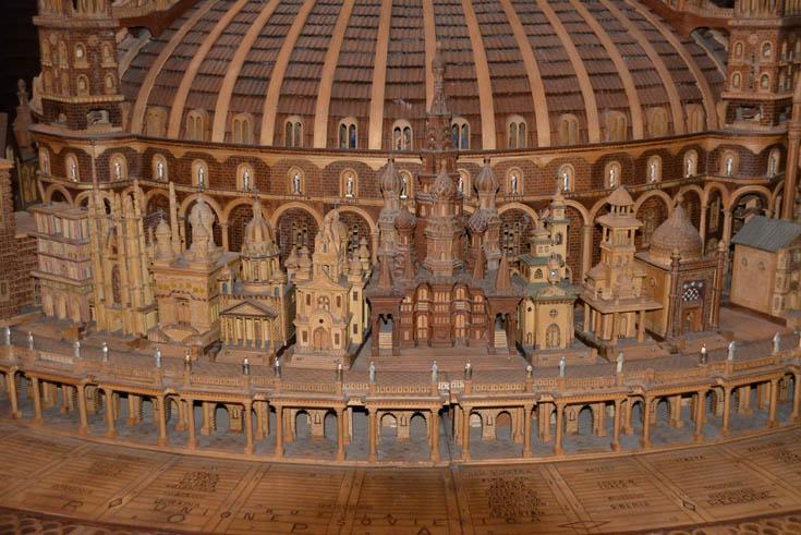 Макет из церкви Сан Иньяцио, Рим