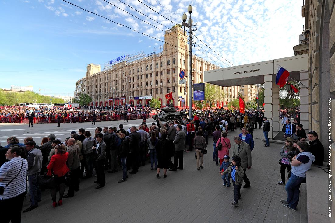 парад День Победы в Волгограде