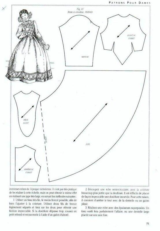 Выкройка платья для куклы своими руками для новичков