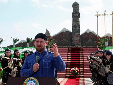 Кадыров открыл памятник убийцам русских солдат