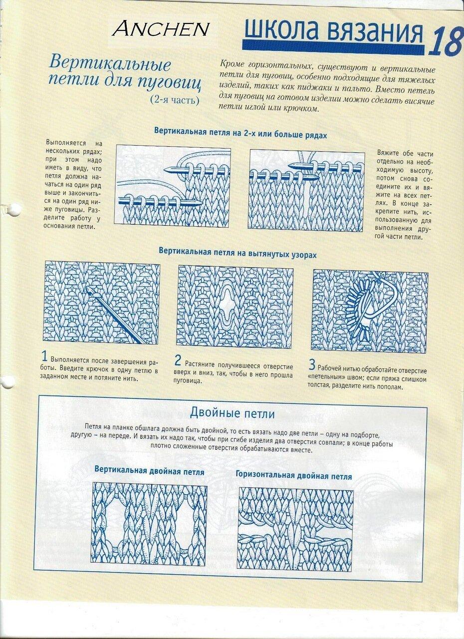 Как связать петли для пуговиц спицами 85