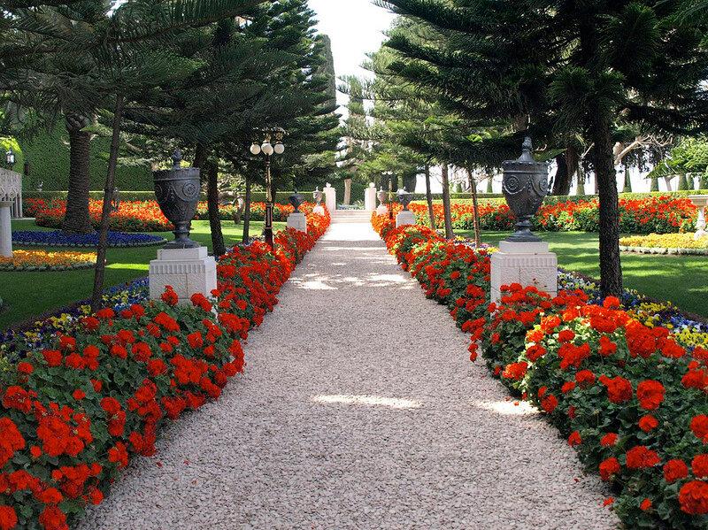 Бахайские сады-Хайфа