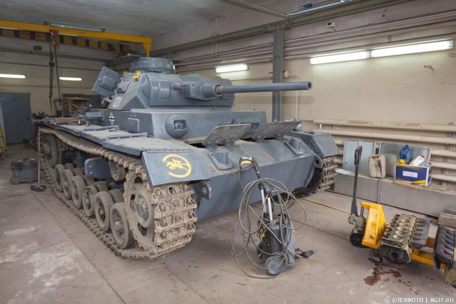 Реставрация танка Panzerkampfwagen III