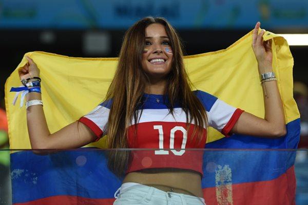 Подборка фотографий болельщиков на чемпионате мира в Бразилии