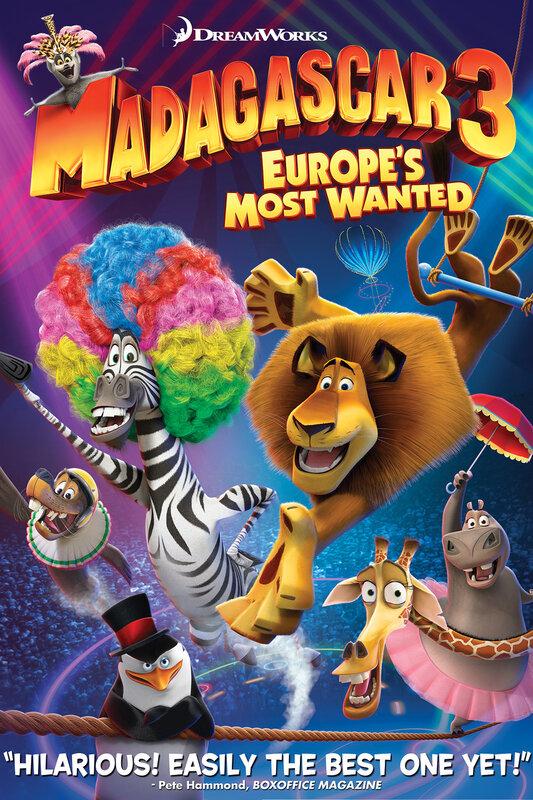 Мадагаскар 3 2012 - профессиональный