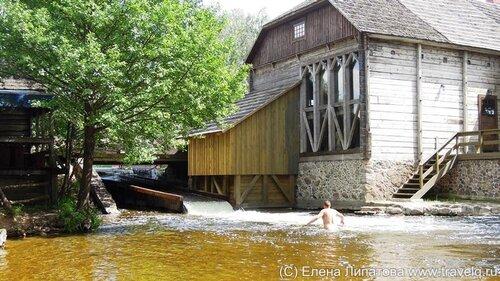 Гинучайская водяная мельница