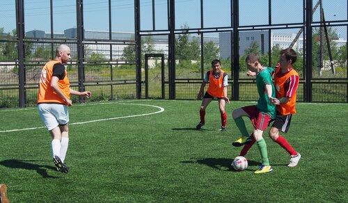 3 тур летнего чемпионата МФЛ Республики Хакасия. Вымпел - Ника 2 - 0